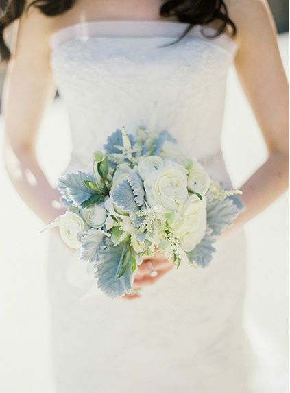 Beautiful White Wedding - Cornelia McNamara Flowers