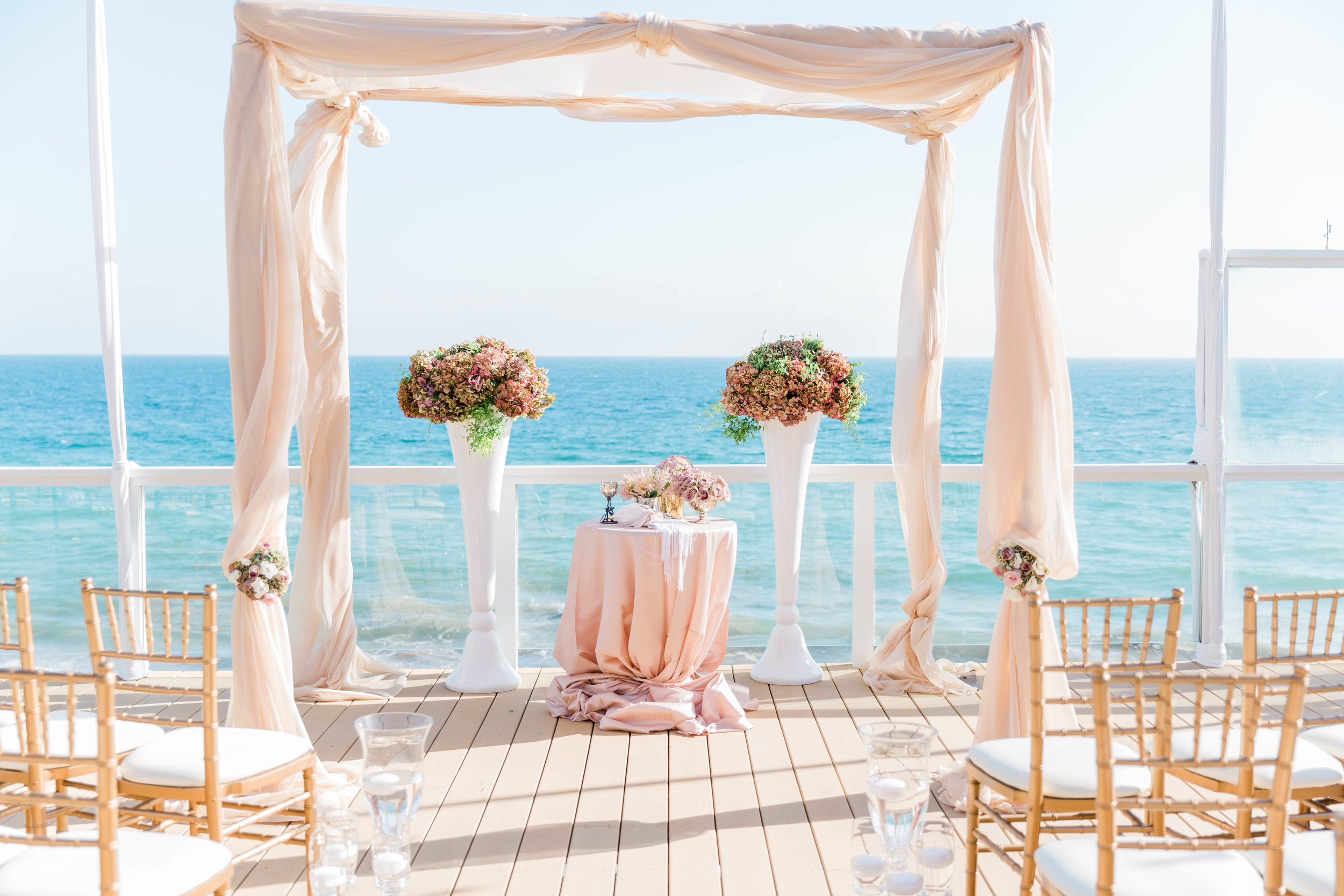 Private Malibu Wedding - Veronique Events