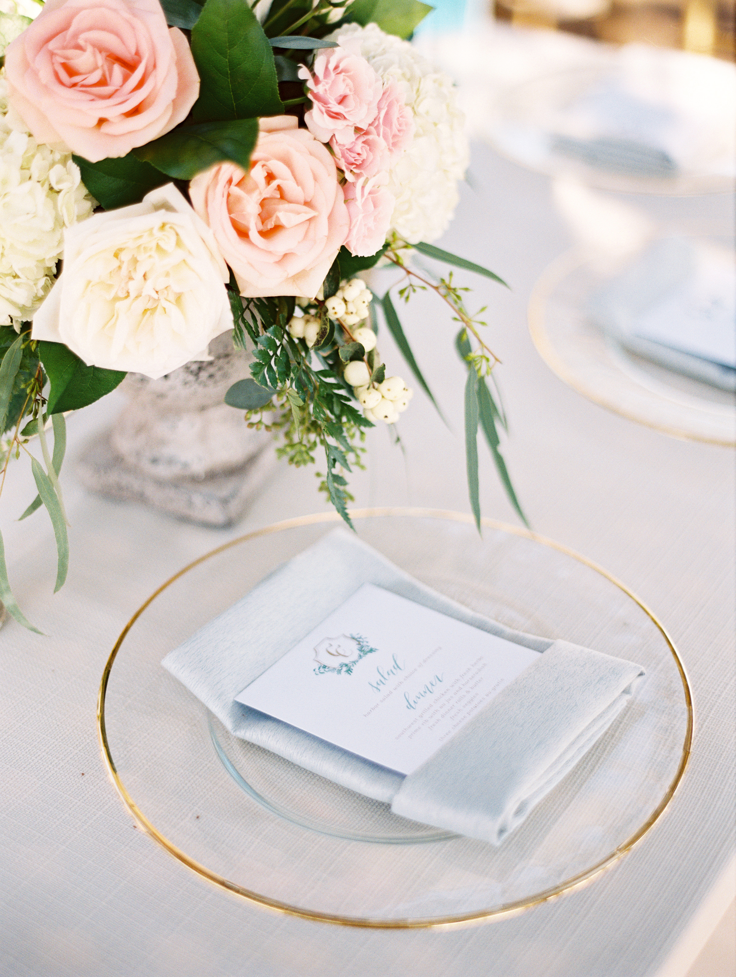 Refined Lakefront Wedding - BBJ Linen