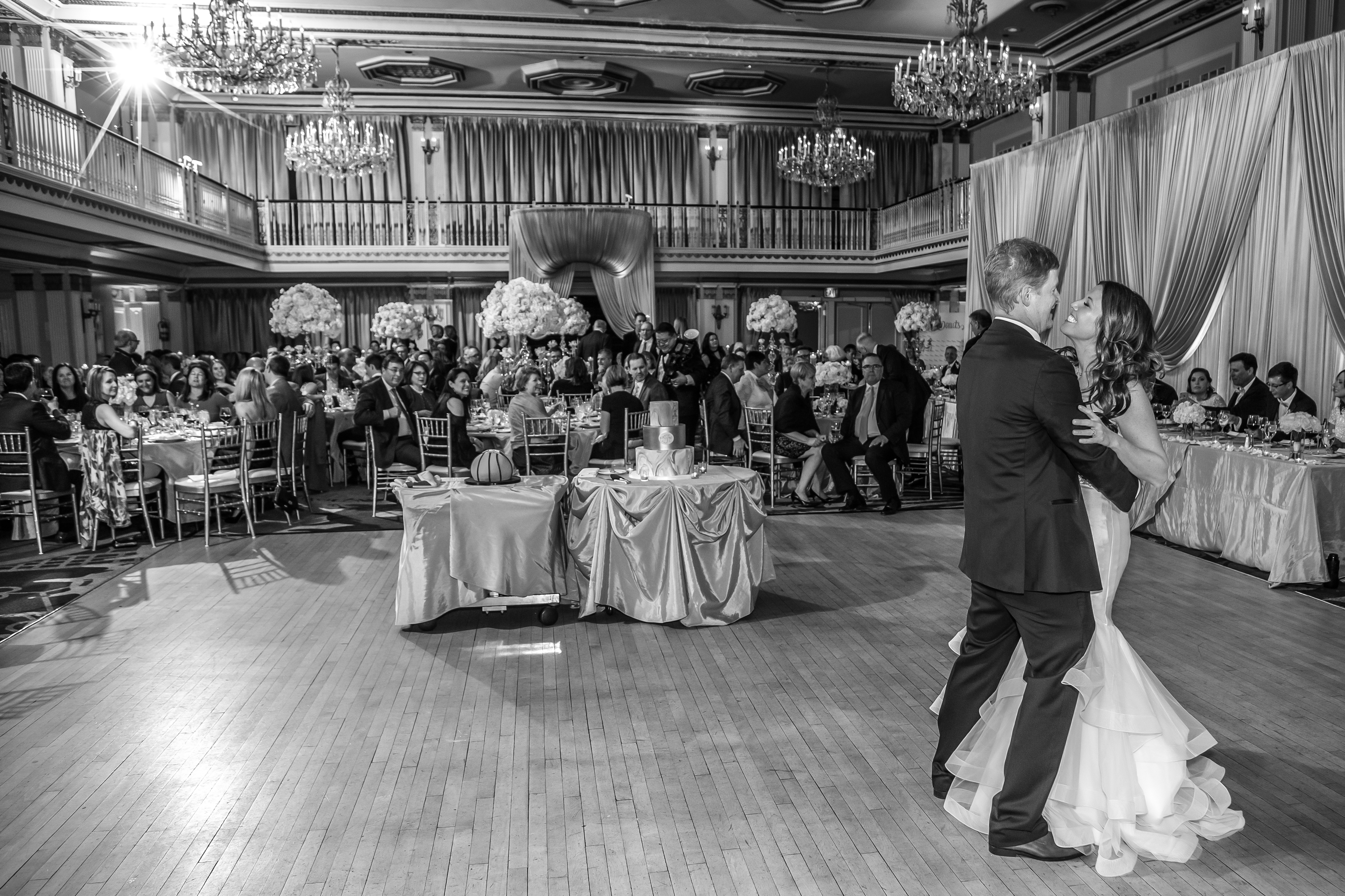 Classic Chicago Ballroom Wedding - LaCour Images