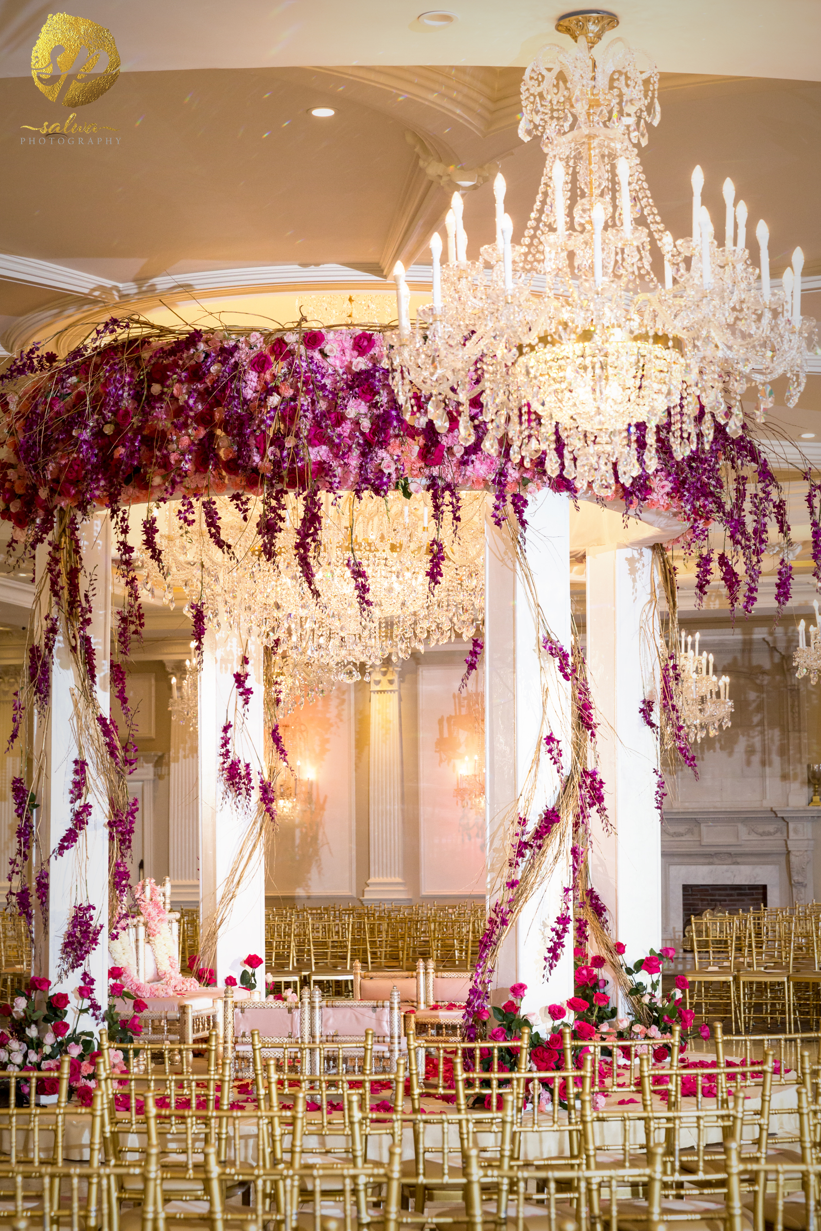 Romantic Blooming Wedding - Sonal J. Shah Event Consultants